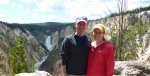 Yellowstone's Upper Falls and Grand Canyon