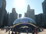 "Cloud Gate (a.k.a. ""the bean"") in Chicago"